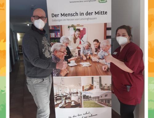 Neue Unterstützung in der Seniorenresidenz Lenzinghausen in Spenge