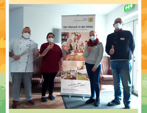 Herzlich Willkommen im Team der Seniorenresidenz Lenzinghausen