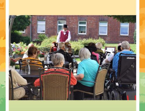 Besondere Klänge in der MediCare Seniorenresidenz Im Grillepark