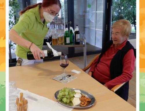 Weinfest in der MediCare Seniorenresidenz Hoffmannspark in Bad Salzuflen
