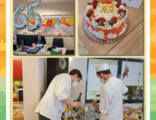 Pflegedienstleiterin von der Seniorenresidenz Am Wiehengebirge feiert Geburtstag