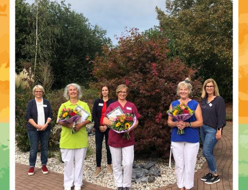 Herzlichen Glückwunsch unseren Jubilarinnen der MediCare Seniorenresidenz Kranenburg